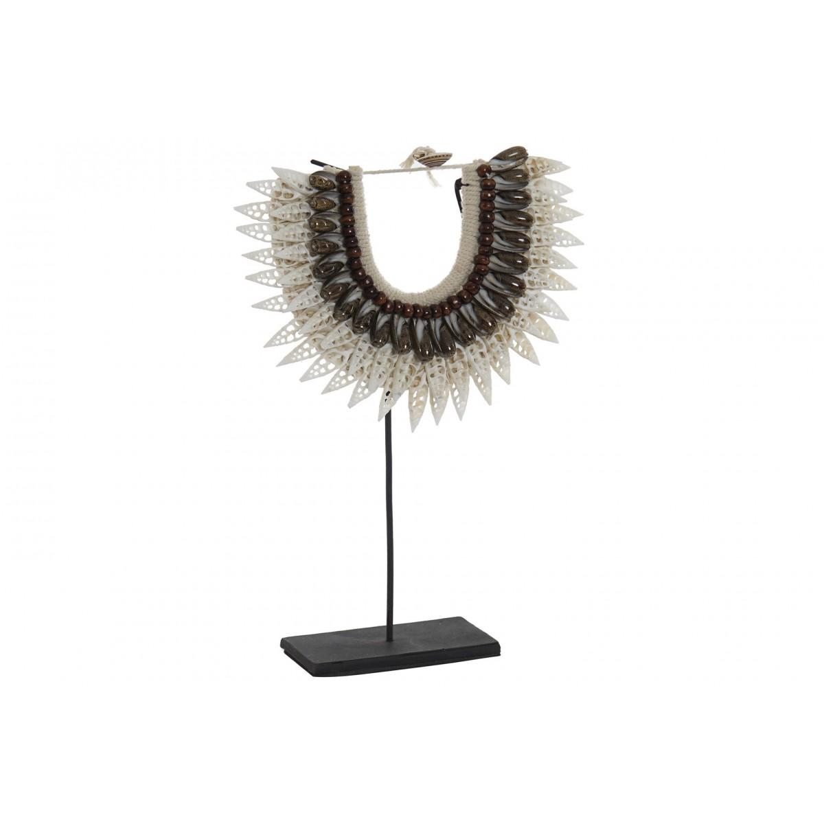 Sculpture Collier de Coquillages