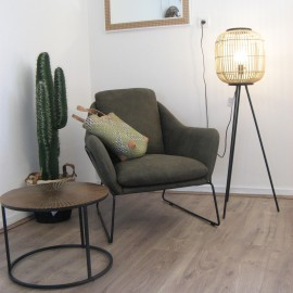 Fauteuil Isabelle Old Olive