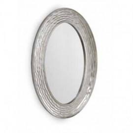 Miroir Oval Gris Thema