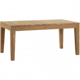 Table de repas Teck Outddor Family 170x100cm
