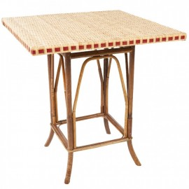 Table Bagatelle Rotin Naturel
