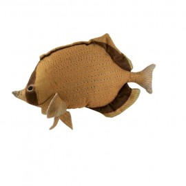 Coussin Poisson Dory Moutarde 59x33