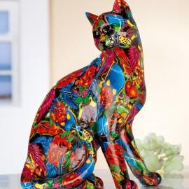 Sculpture Chat Twist Pop Art H.29cm