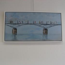 Tableau Promenade sur le Pont
