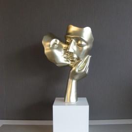 Statue Amore Champagne
