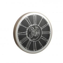 Horloge Industrielle 80x80 avec Led