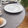 Table Abel ronde 100x100 Ciment