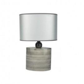 Lampe Céramique Grise hauteur 37 cm