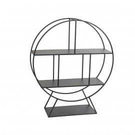 Etagère meuble cercle en Métal 79x94