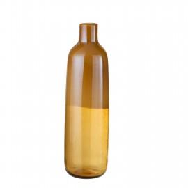 Vase Tira Jaune H.47cm