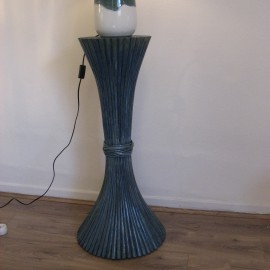 Table Basse Luna 70x70 Bleu Mar