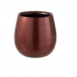 Cache-pot en poterie Framboise 24x24