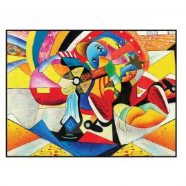 Tableau Jazz Multicolore