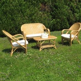 Salon Golf Canapé 2P + 2 fauteuils