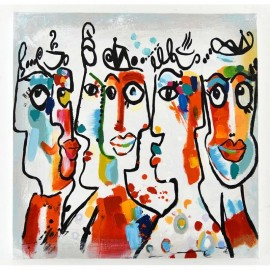 Tableau Picasso N°1 -60x60