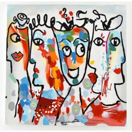 Tableau Picasso N°2 -60x60