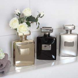 Vase Flacon Parfum Noir