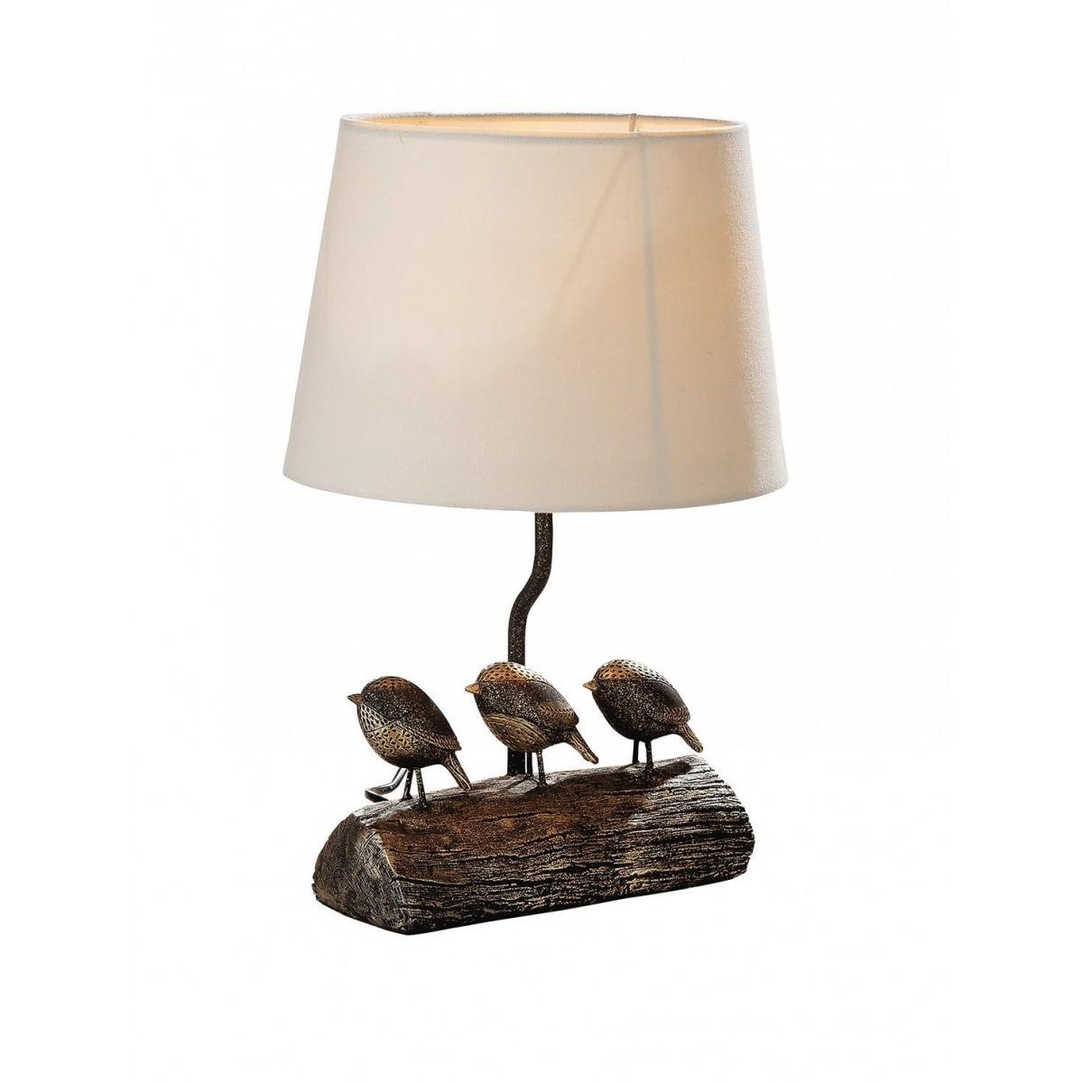 Lampe Oiseaux h.40cm