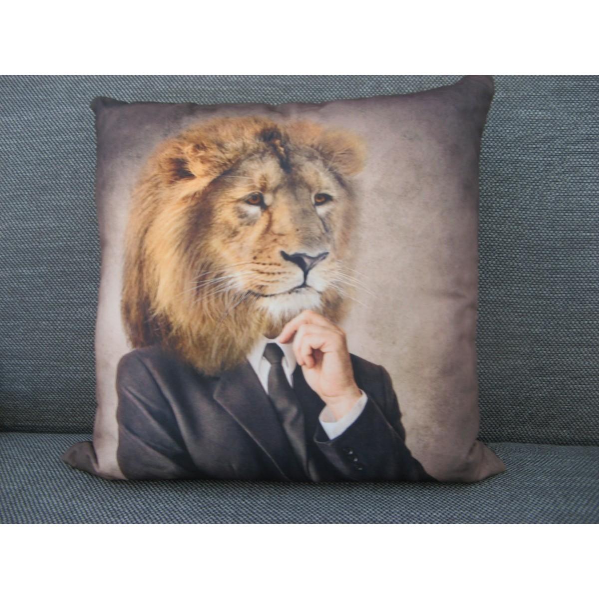 Coussin Homme-Lion