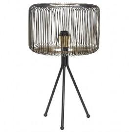 Lampe en métal Noir Tria H.56cm
