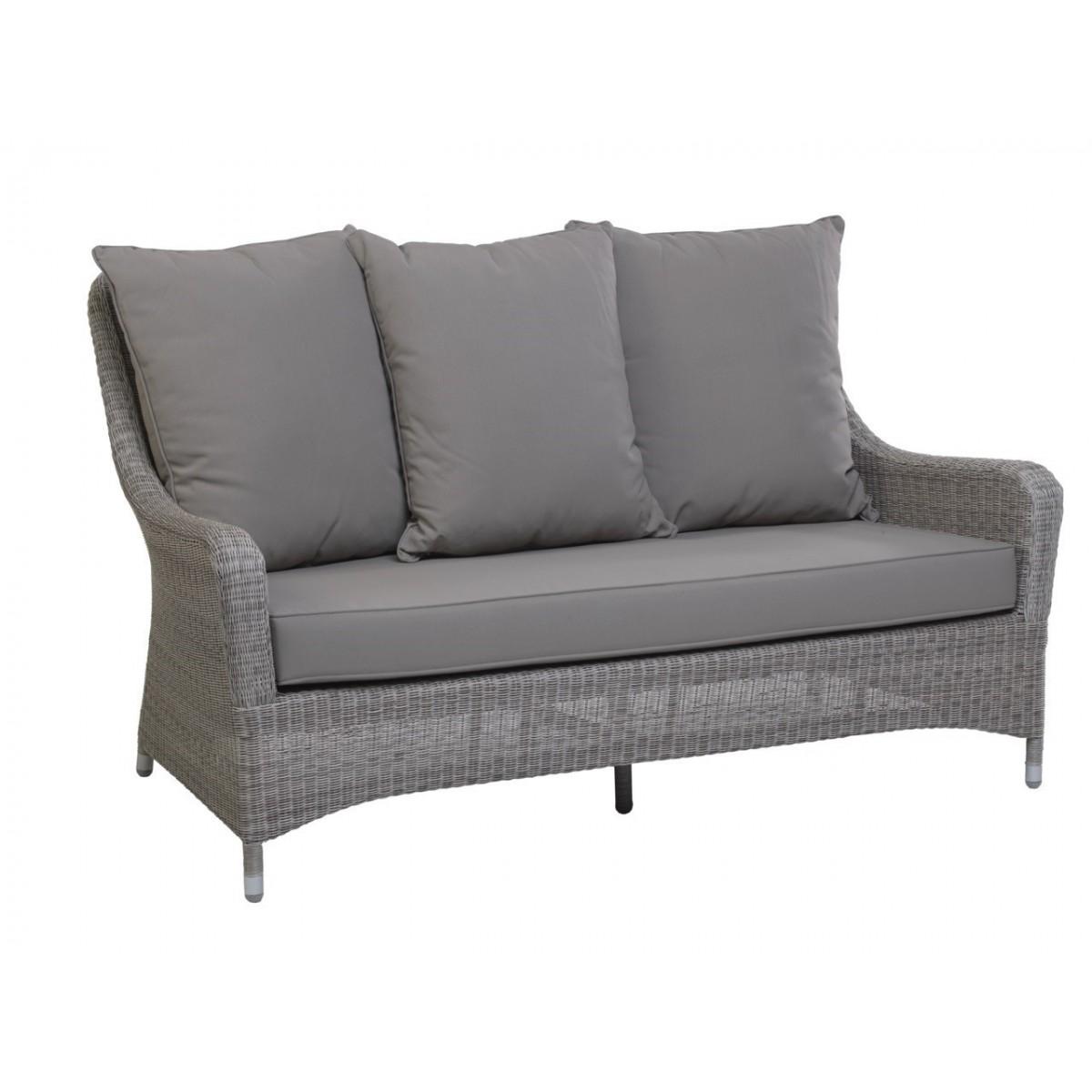 Canapé Transat Résine Gris